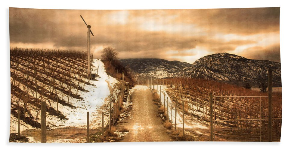 Kvr Hand Towel featuring the photograph The Small Hill by Tara Turner