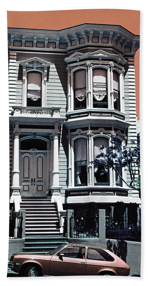 San Francisco Hand Towel featuring the photograph The Streets Of San Francisco by Ira Shander