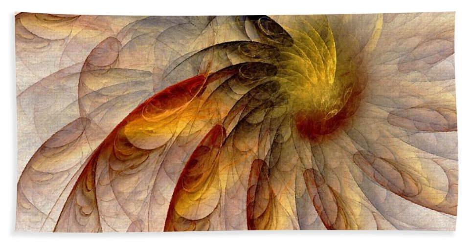 Sun Bath Sheet featuring the digital art The Sun Do Move - Remembering Langston Hughes by NirvanaBlues