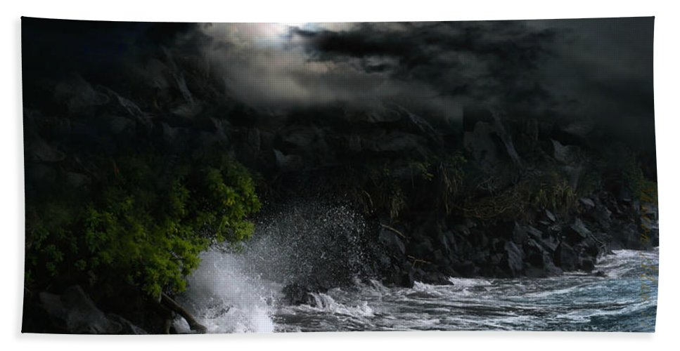 Hamoa Beach Hand Towel featuring the photograph The Supreme Soul by Sharon Mau