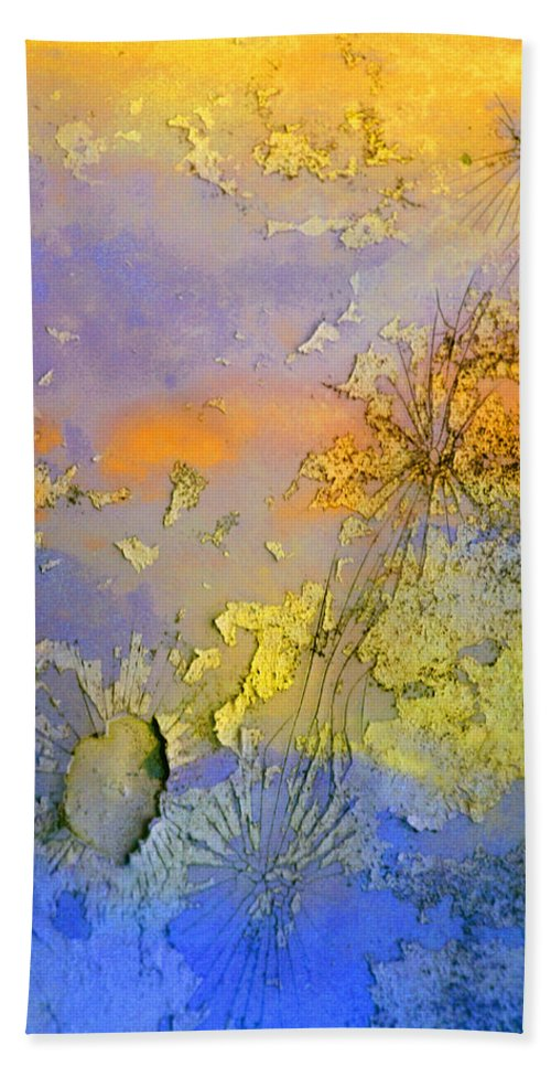 Abstract Hand Towel featuring the photograph The Things We No Longer Find Beautiful by Tara Turner