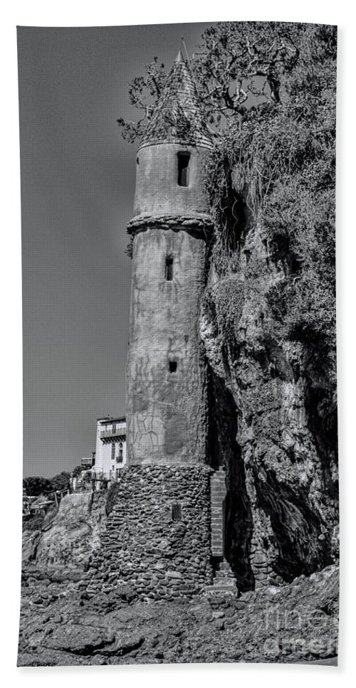 Tower Hand Towel featuring the photograph The Tower by Tommy Anderson