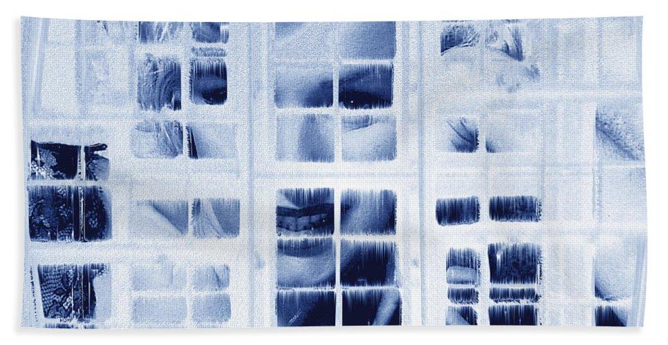 Marilyn Monroe Hand Towel featuring the digital art The Voyeur by Seth Weaver