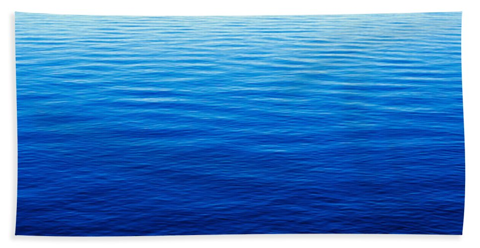 Photography Bath Sheet featuring the photograph These Are Water Reflections In Lake by Panoramic Images