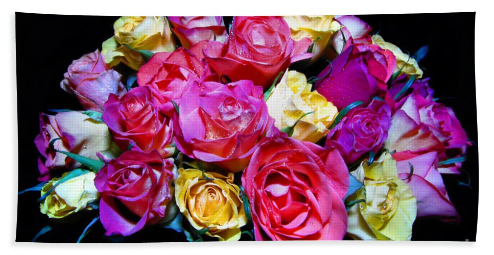 Roses Hand Towel featuring the photograph Thirty Six 2 by September Stone