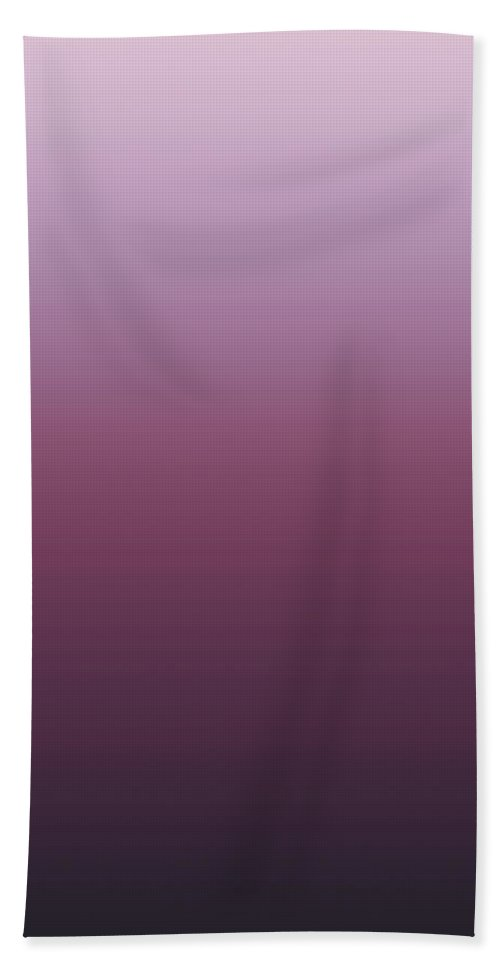 Thistle Mink - Abstract Bath Sheet featuring the digital art Thistle Mink - R Blended by Custom Home Fashions