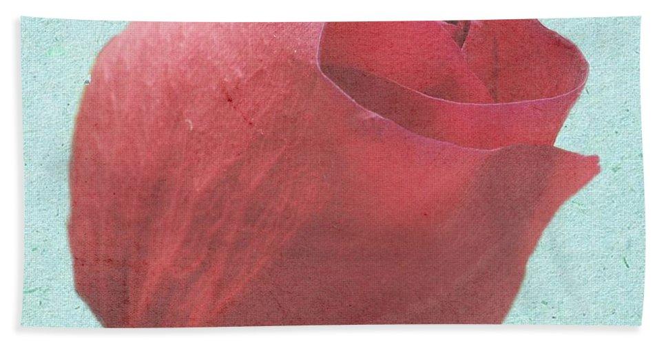 Rose Bath Sheet featuring the photograph Thornless by Jeffrey Kolker