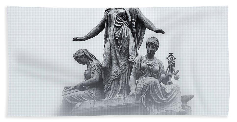 Washington Dc Bath Sheet featuring the photograph Three Woman by Bill Cannon