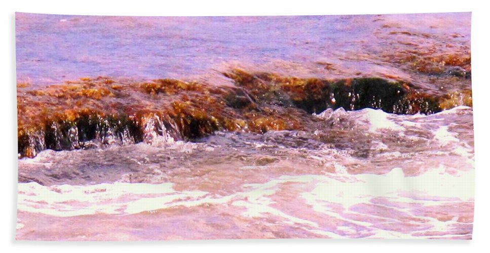 Tide Hand Towel featuring the photograph Tidal Pool by Ian MacDonald