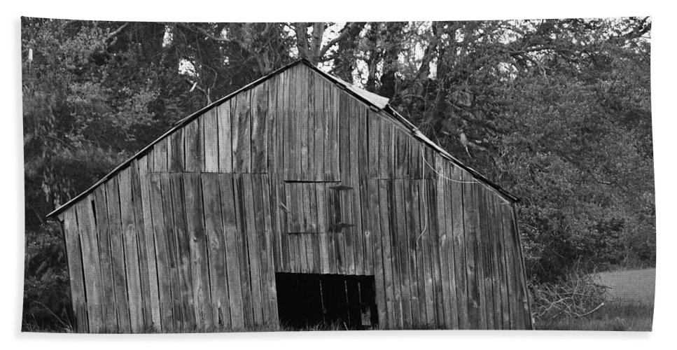 Barn Hand Towel featuring the photograph Tilting by Eric Liller
