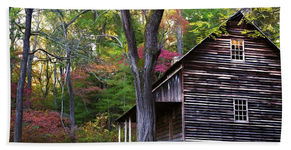 Appalachia Bath Sheet featuring the photograph Tipton's Place by Lana Trussell