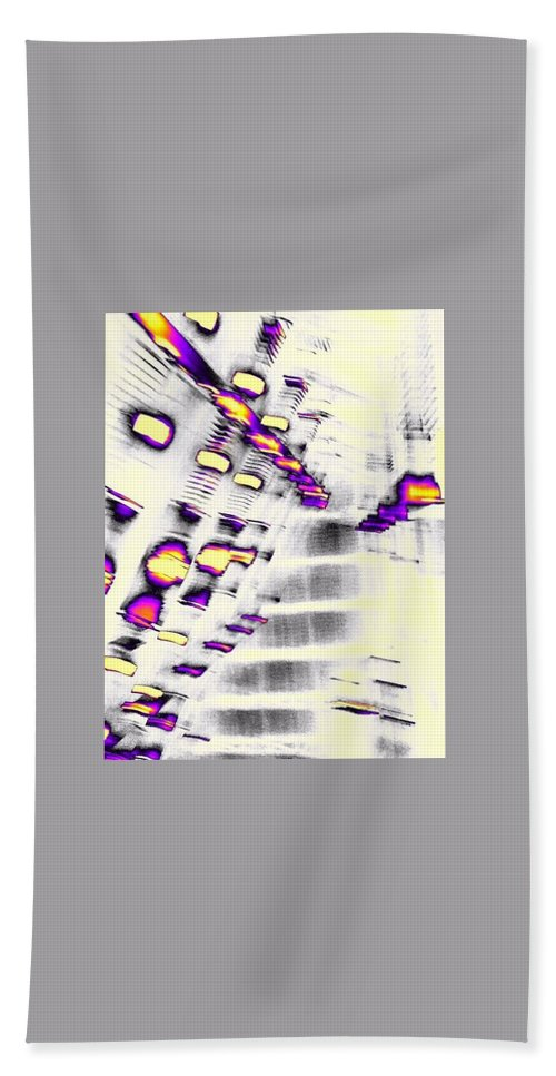 Digital Photography Bath Sheet featuring the digital art To The Other Side by Wendy McReynolds