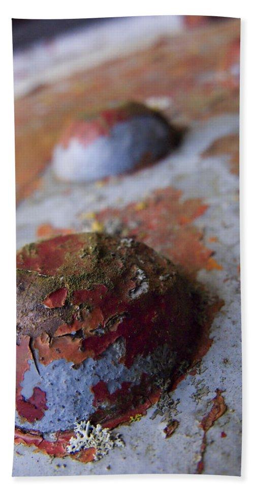 Bolt Bath Sheet featuring the photograph Tractor Island by Jeffery Ball