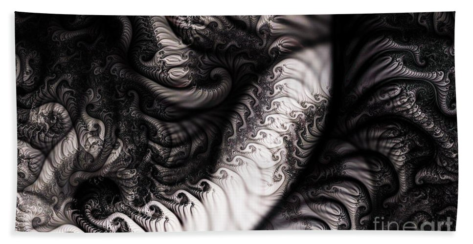 Clay Hand Towel featuring the digital art Traffic Jam by Clayton Bruster