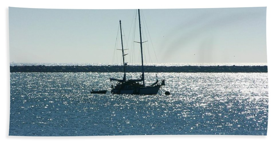 Seascape Bath Sheet featuring the photograph Tranquil Bay by Carol Groenen