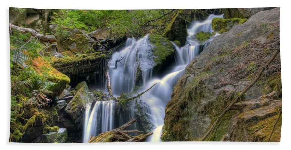 Hdr Hand Towel featuring the photograph Tranquility by Brad Granger