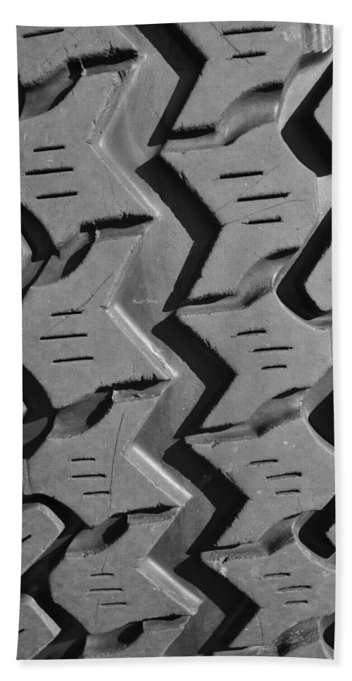 Jeep Bath Sheet featuring the photograph Tread Blox 1 by Luke Moore
