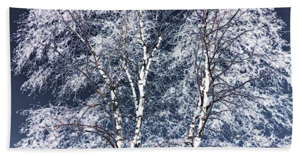 Tree Bath Towel featuring the digital art Tree Fantasy 14 by Lee Santa