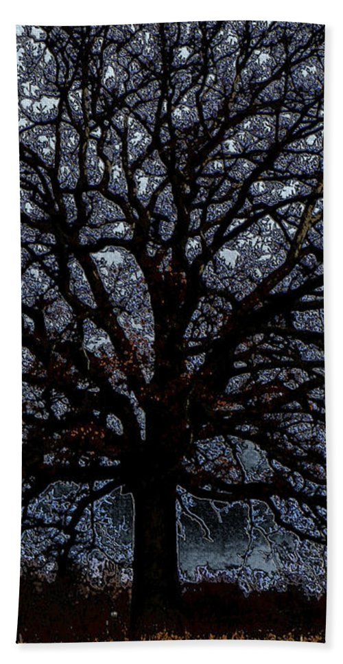 Tree Hand Towel featuring the photograph Tree Of Life by September Stone