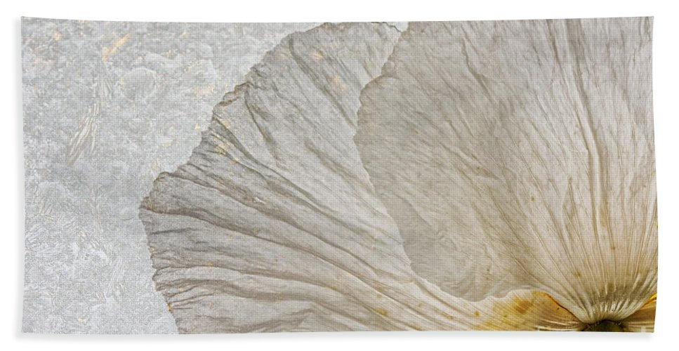 Tree Poppy Hand Towel featuring the photograph Tree Poppy by Ann Garrett