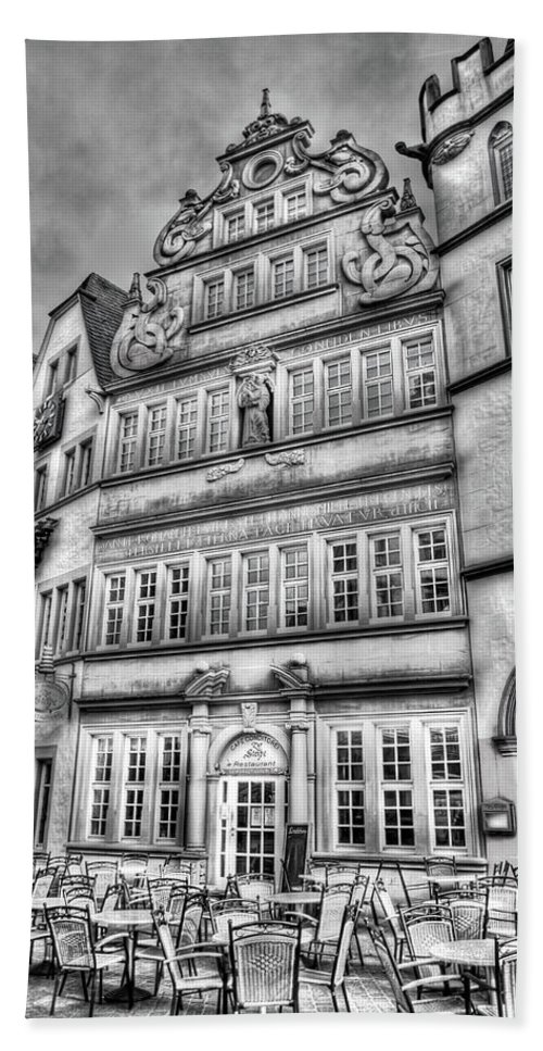 Trier Germany Bath Sheet featuring the photograph Trier Germany by Bill Lindsay
