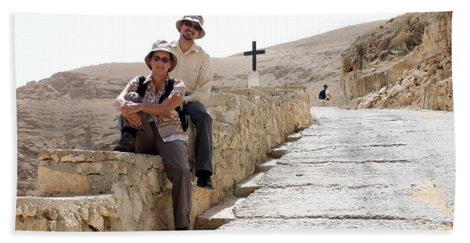 Trip Bath Sheet featuring the photograph Trip To Jericho by Munir Alawi