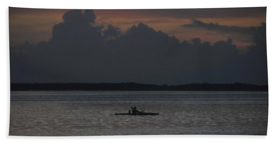 Fishing Hand Towel featuring the photograph Tropical Adventure by David Lee Thompson