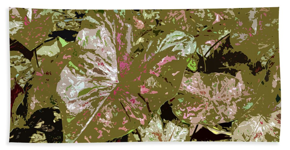 Tropical Bath Towel featuring the photograph Tropicals by David Lee Thompson