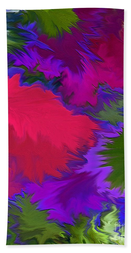 Mixed Media Art Bath Towel featuring the photograph Tropicana by Patricia Griffin Brett