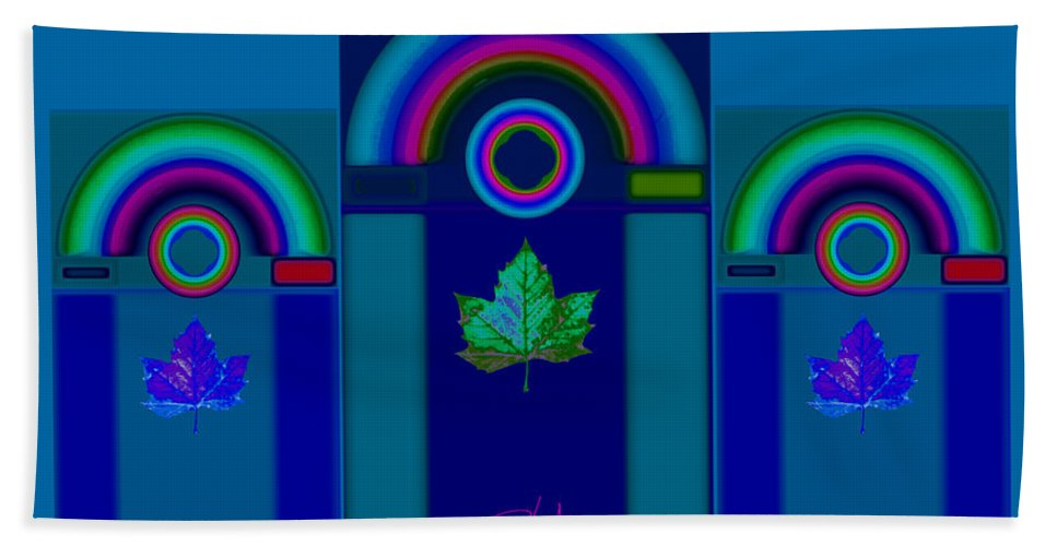 Classical Bath Towel featuring the digital art Tuscan Winter by Charles Stuart