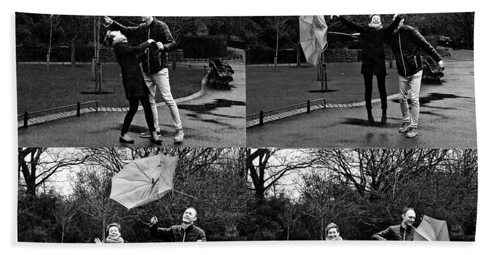 Engagement Hand Towel featuring the photograph Ula And Wojtek Engagement 3 by Alex Art and Photo