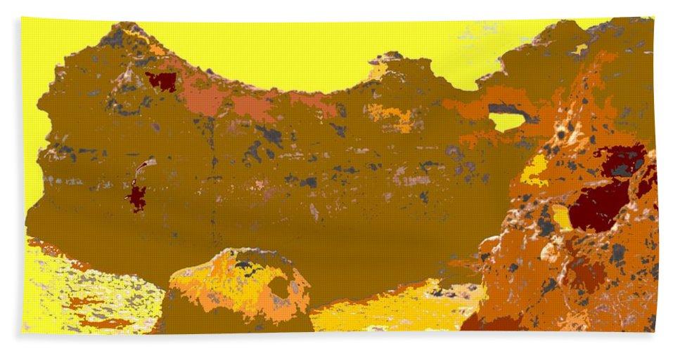 Mediterranean Bath Sheet featuring the photograph Under A Portugese Sun by Ian MacDonald