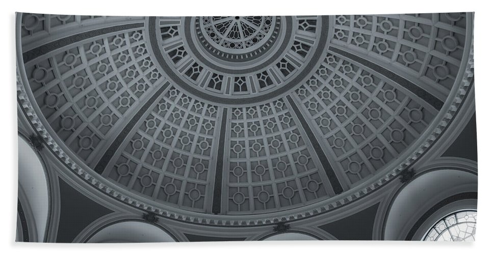 City Hand Towel featuring the photograph Under The Dome by Jonathan Nguyen