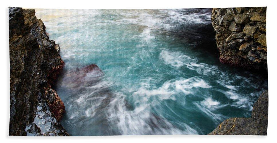 Undertow Bath Sheet featuring the photograph Undertow by Yuri Santin