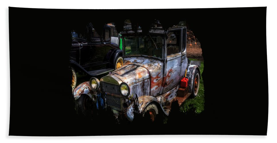 Hdr Bath Sheet featuring the photograph Unruly But Practical by Thom Zehrfeld