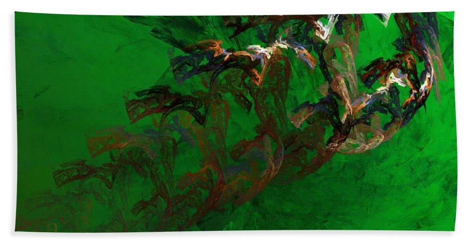 Digital Painting Hand Towel featuring the digital art Untitled 01-15-10 by David Lane