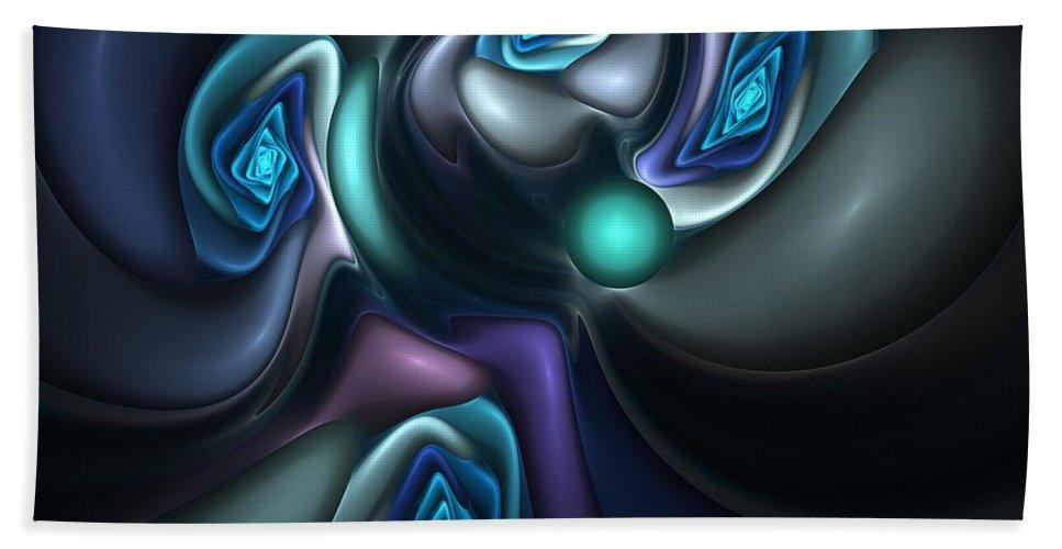 Digital Painting Hand Towel featuring the digital art Untitled 04-14-10-b by David Lane