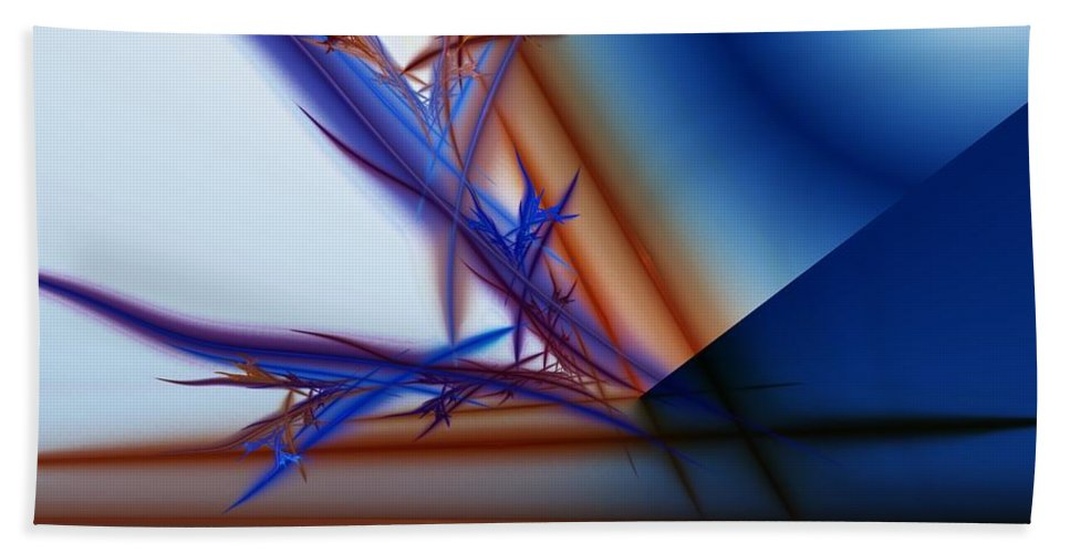 Digital Painting Bath Sheet featuring the digital art Untitled 04-14-10-e by David Lane