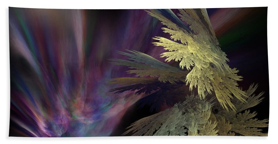Fantasy Bath Towel featuring the digital art Untitled 12-05-09 by David Lane