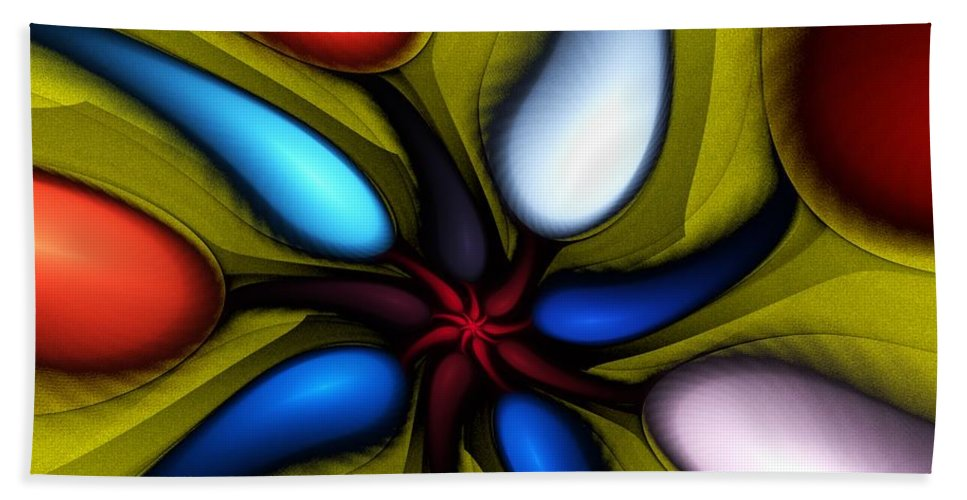 Digital Painting Bath Sheet featuring the digital art Untitled 3-10-10 by David Lane