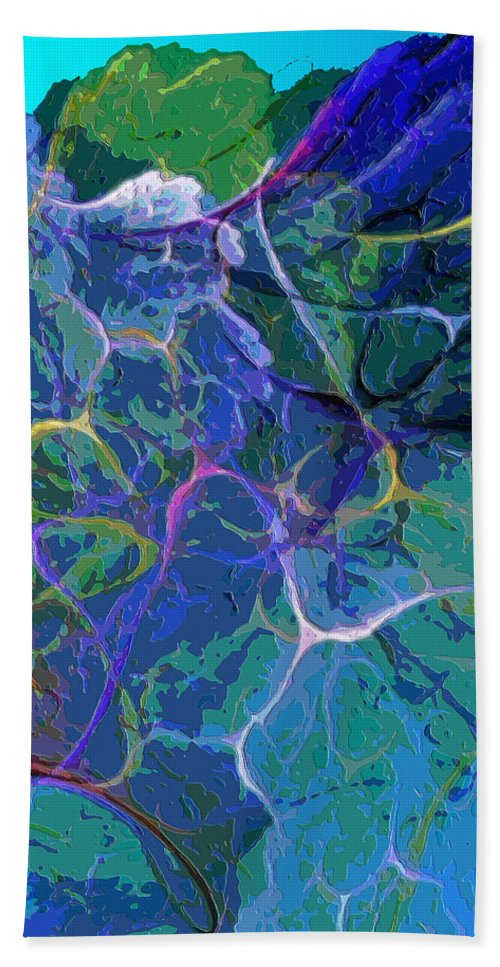 Digital Painting Hand Towel featuring the digital art Untitled 5-2-10-a by David Lane