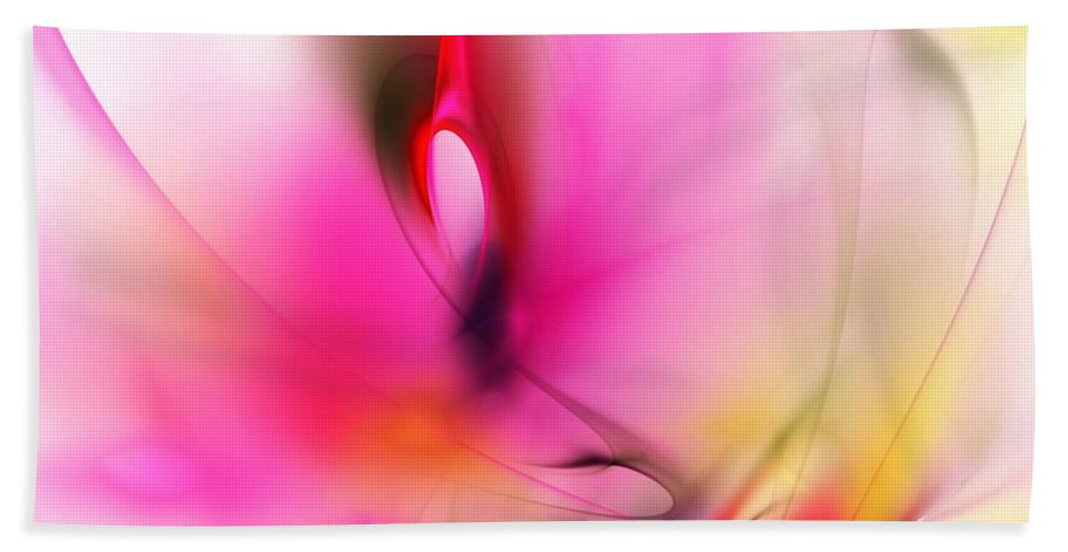 Digital Painting Bath Sheet featuring the digital art Untitled 5-2-10 by David Lane