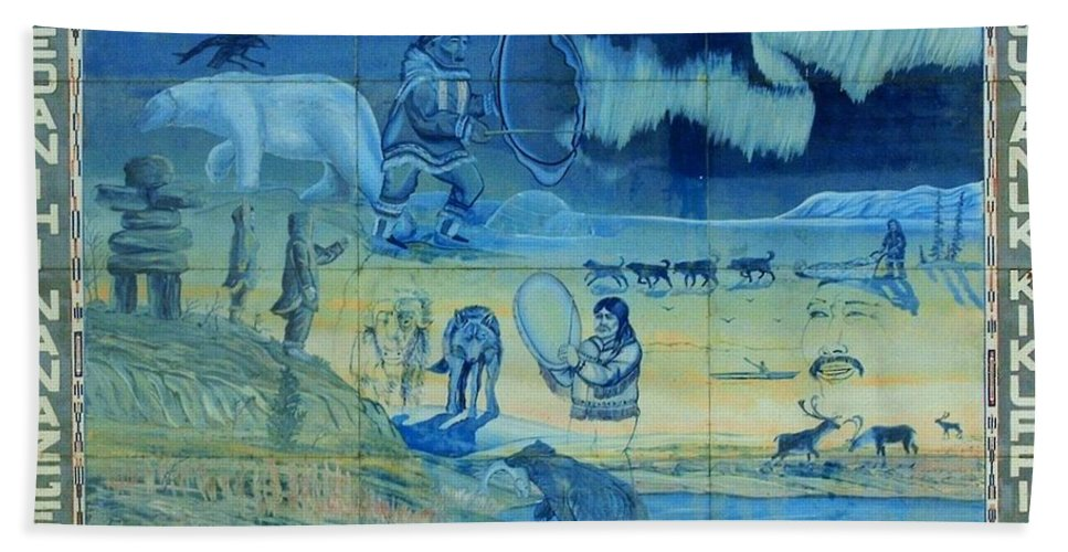 North America Hand Towel featuring the photograph Up North ... by Juergen Weiss