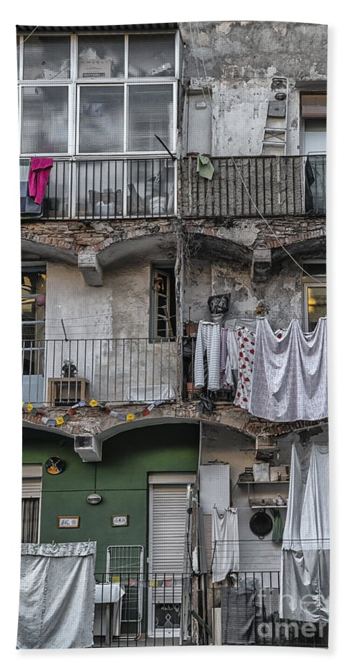 Activity Bath Towel featuring the photograph Urban Life by Svetlana Sewell