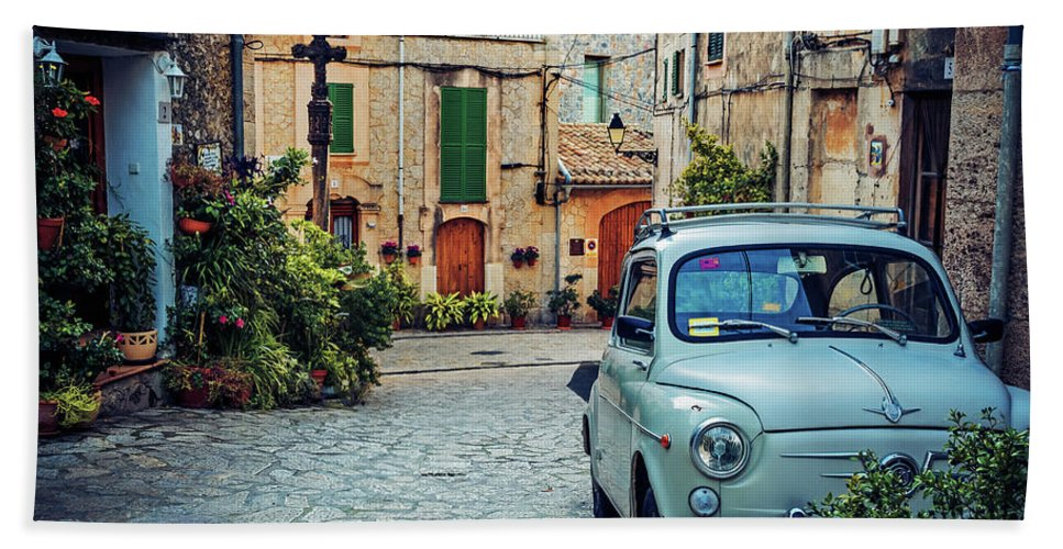 Mallorca Hand Towel featuring the photograph Valldemossa - Majorca by Alexander Voss