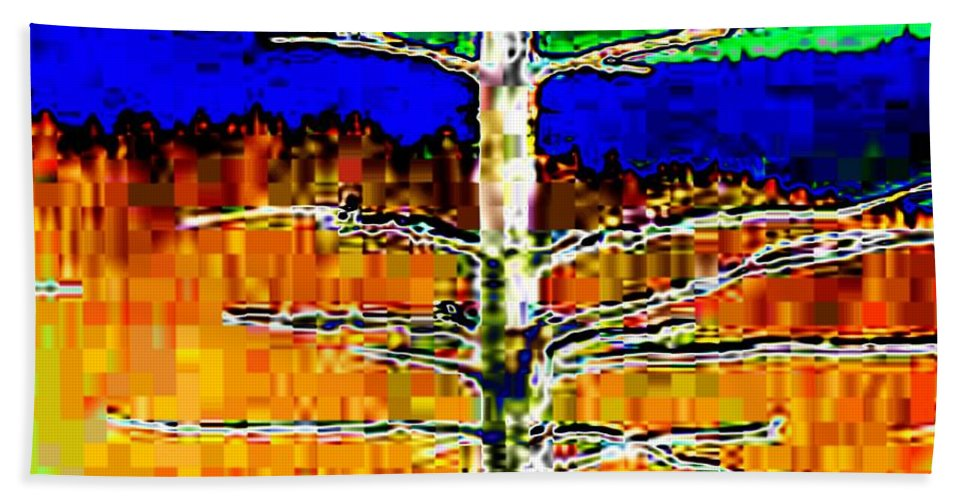 Valley Hand Towel featuring the photograph Valley View 1 by Tim Allen
