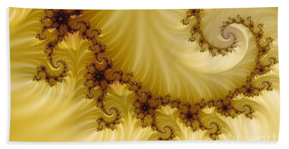 Clay Bath Sheet featuring the digital art Valleys by Clayton Bruster