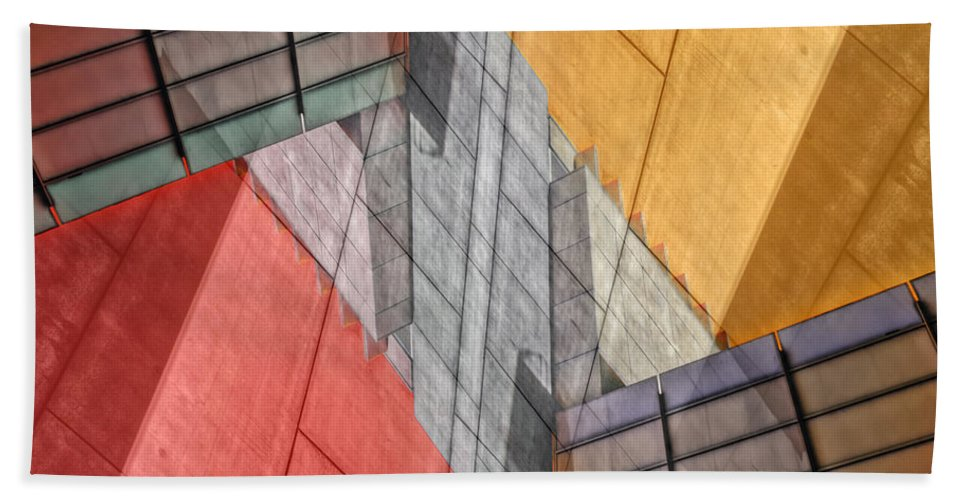 Buildings Bath Sheet featuring the photograph Variation On A Theme by Wayne Sherriff