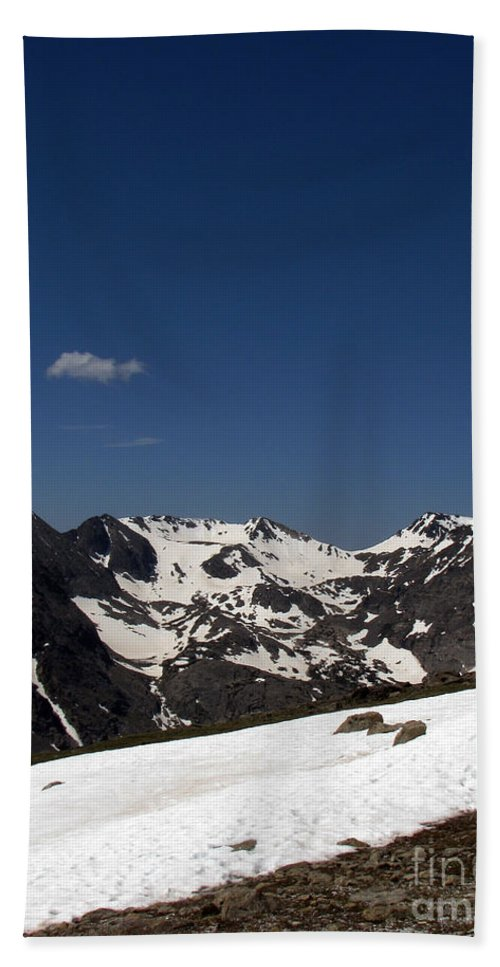 Colorado Hand Towel featuring the photograph Vast Mother by Amanda Barcon