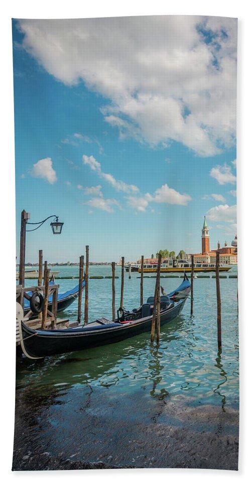 Venice Hand Towel featuring the photograph Venice by Anastacia Petropavlovskaja